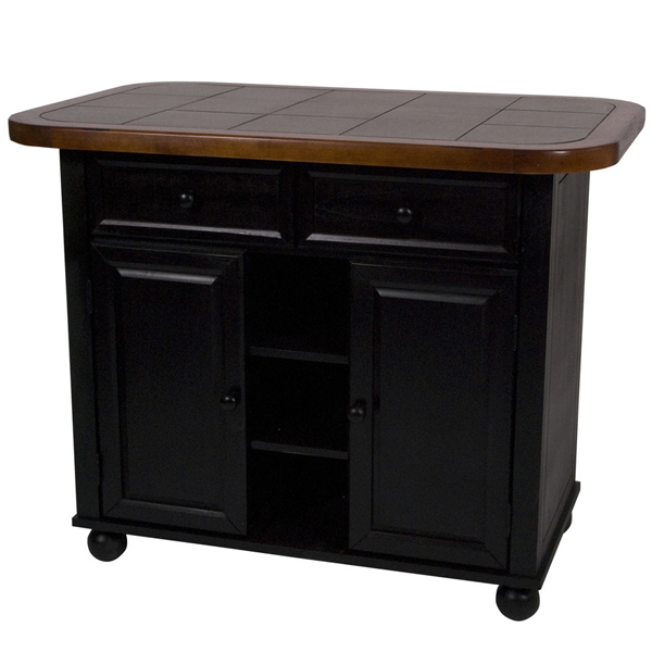 Tile Kitchen Island With Bar Stools